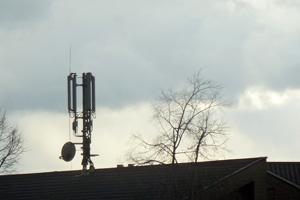 Mobilfunksender vor der Haustür
