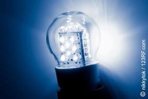 LED-Lampen unser Licht-Zukunft? (©123rf.com)