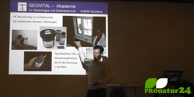 Vortrag von PROnatur24 in Weiler, September 2012