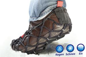 Rutschsicher auf Schnee und Eis mit EzyShoes