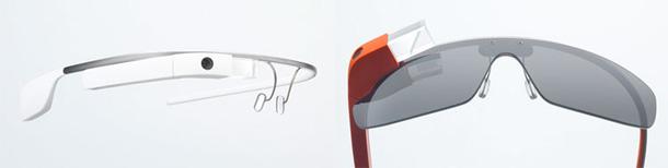 Google Glass Standard und mit Sonnenbrille (Option?)