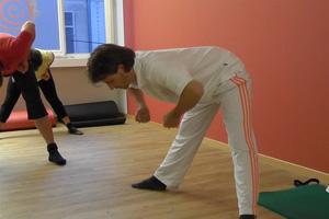 Training für Rücken und Schultern