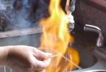 Wenn Wasser brennt - Erdgas im Trinkwasser!