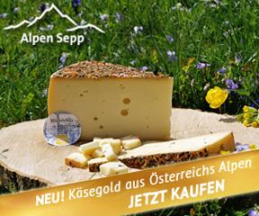 Alpenkäse vom Alpen Sepp