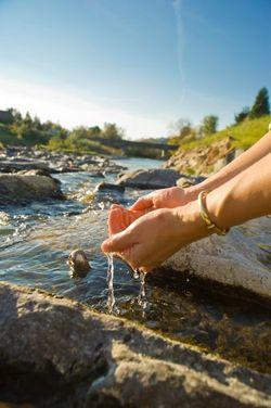 Wasser finden mit der Rute