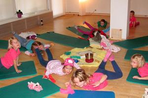 Yoga und Klettern mit Kindern