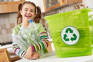 Plastikverpackungen sammeln!