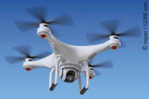 Drohne für Videoaufnahmen