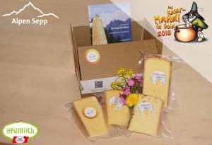 4 Goldmedaillen für Alpen Sepp Käse