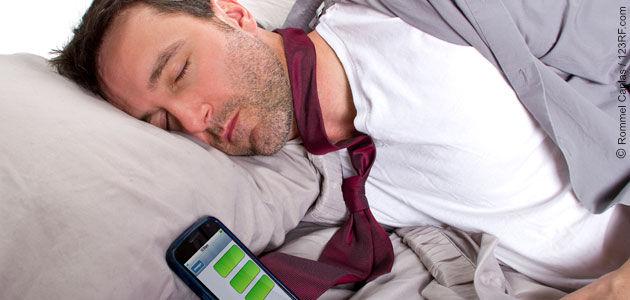 Stressfaktor Handy! Wenn das Smartphone nicht abgeschaltet werden darf?!