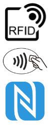 Logo von RFID und NFC Systemen
