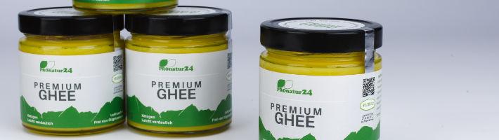 PREMIUM GHEE exklusiv im PROnatur24 Shop