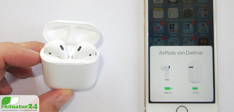 Apple Airpods. Einfachheit erreicht eine neue Dimension. Einfach WOW!